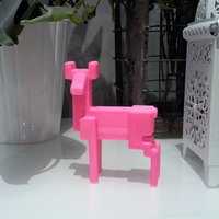 Small Deer Ikea - decoration - SAMSPELT 3D Printing 60954