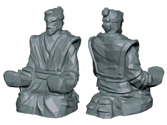 3d printed samurai multi purpose holder by yu pinshape