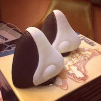 Small PERSOCOM Cosplay Ears (Data Ports) 3D Printing 60998