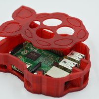 Small Raspberry-shaped Raspberry Pi Case 3D Printing 61070