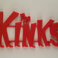 Small The Kinks 3D Printing 61110