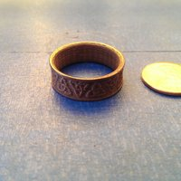 Small Celtic Ring 3D Printing 61192