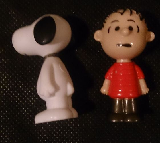 Snoopy and Charlie Brown 3D Print 61447