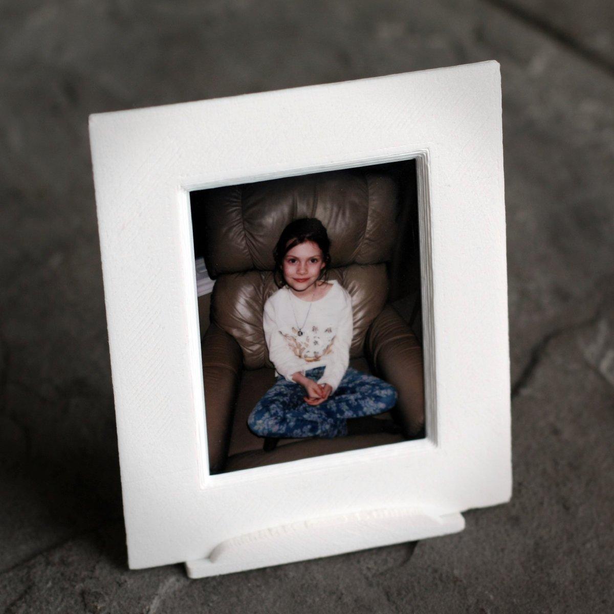 3D Printed A Fuji Film Instax Mini picture frame. by deadlygeek ...