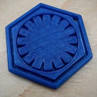 Small Star Wars First Order Keychain 3D Printing 61518