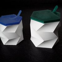 Small Sugar , salt container - sugar basin 3D Printing 61574