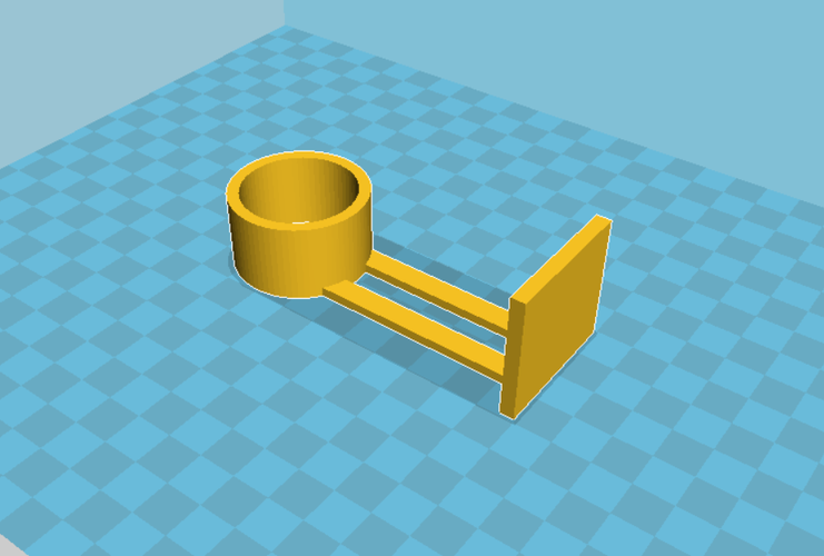 Paper Towel Holder 3D Print 61753