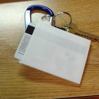 Small ID Card Holder 3D Printing 61757