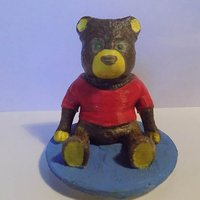 Small teddy bear 3D Printing 61806