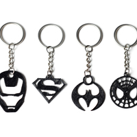 Small Superhero Keychains 3D Printing 62036