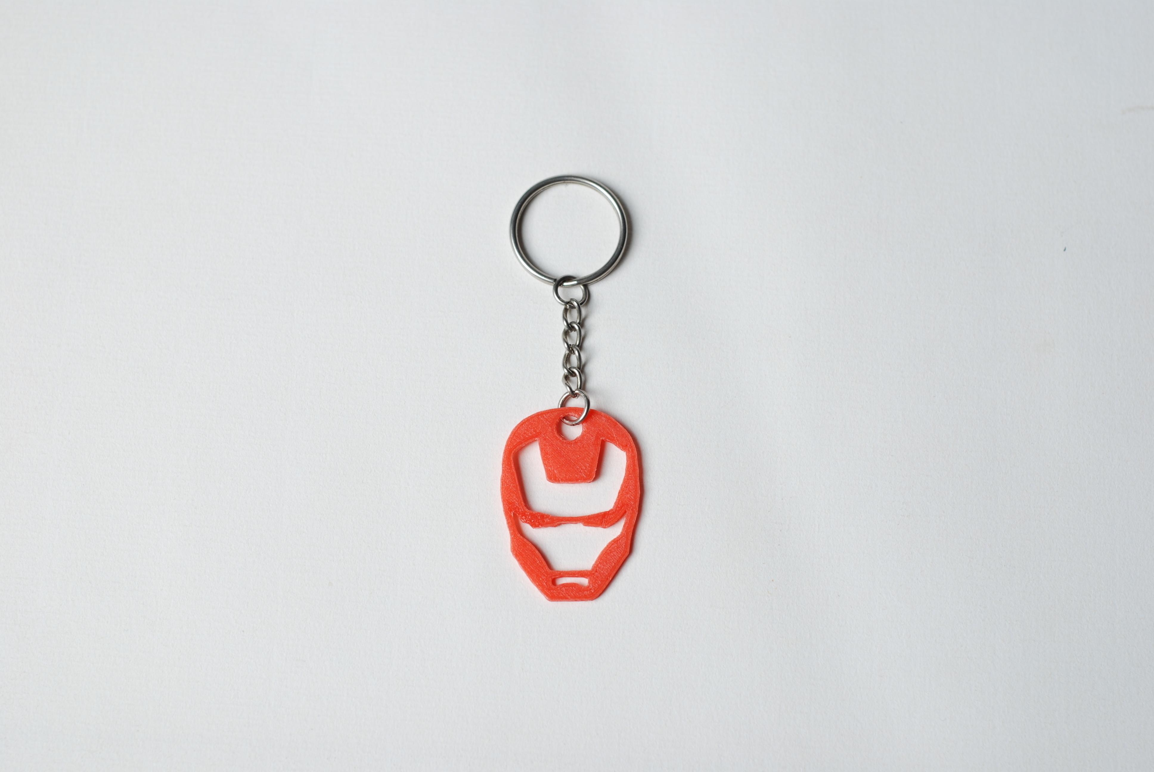 3d printed superhero keychains by formbyte pinshape