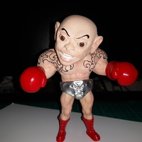 Small 搖頭晃腦的拳擊手 -台灣製造 boxer-Made in Taiwan 3D Printing 62224