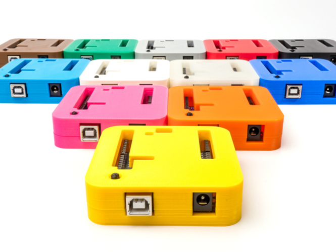 D printed arduino uno case by lucas lira hape