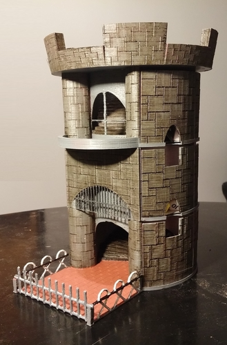 Dice Tower and Storage 3D Print 62825