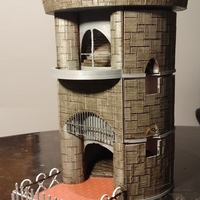 Small Dice Tower and Storage 3D Printing 62825