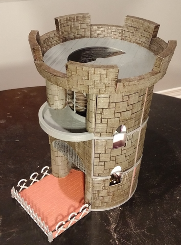 Dice Tower and Storage 3D Print 62826