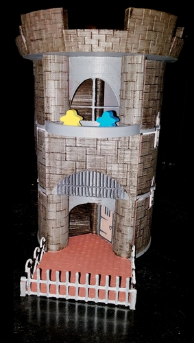 Dice Tower and Storage 3D Print 62827