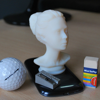 Small female bust 3D Printing 62858
