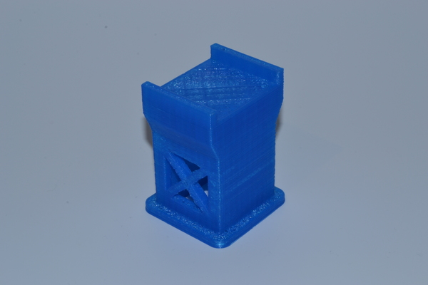 Medium Bridge support for train 3D Printing 62902
