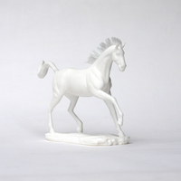 Small Horse Sculpture 3D Printing 63043