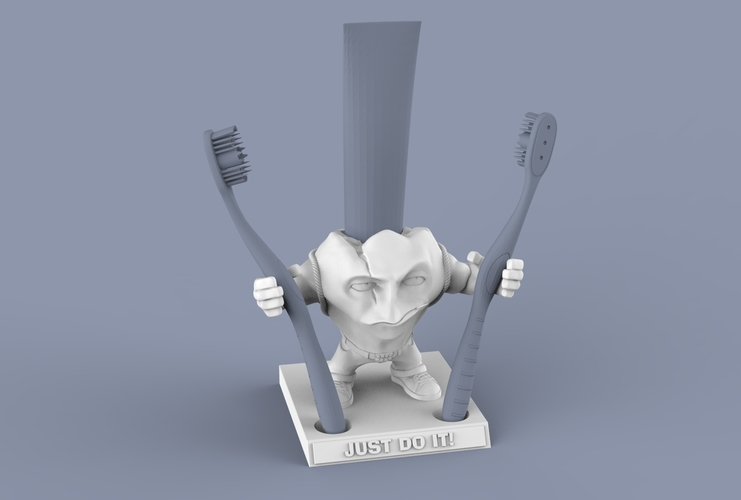 "SUPERTOOTH ""JUST DO IT"" 3D Print 63108"