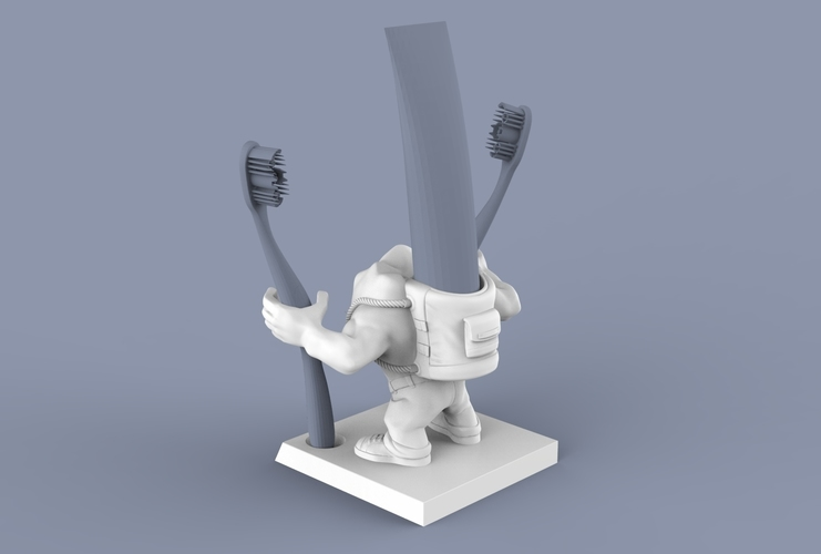 "SUPERTOOTH ""JUST DO IT"" 3D Print 63109"