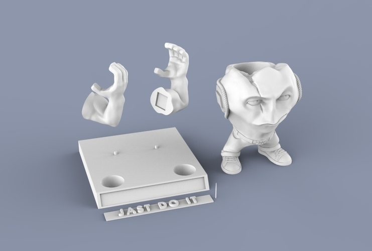 "SUPERTOOTH ""JUST DO IT"" 3D Print 63111"