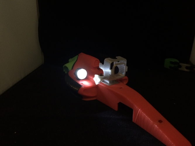 led Rally light  accessory for open rc formula 1  3D Print 63147