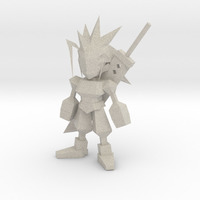 Small Zack Low Poly 3D Printing 63244