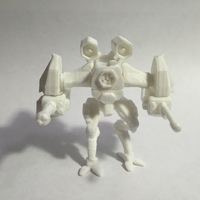 Small Soldier Bot 3D Printing 63325