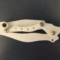 Small Plastic Pocket Knife 3D Printing 63350