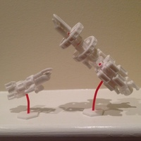 Small ShipBuilder Start Set - Mini 3D Printing 6341