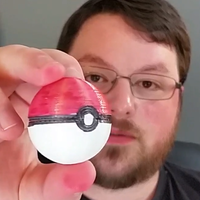 Small Simple Pokeball Hanger 3D Printing 63587