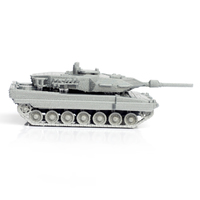 Small Leopard Tank Simple Model Kit 3D Printing 63597