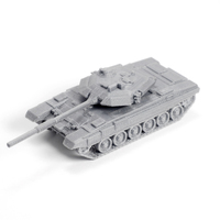 Small T90 Tank Simple Model Kit 3D Printing 63604