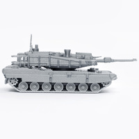 Small K2 Black Panther Tank Simple Model Kit 3D Printing 63611