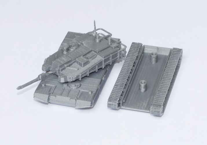 K2 Black Panther Tank Simple Model Kit 3D Print 63614