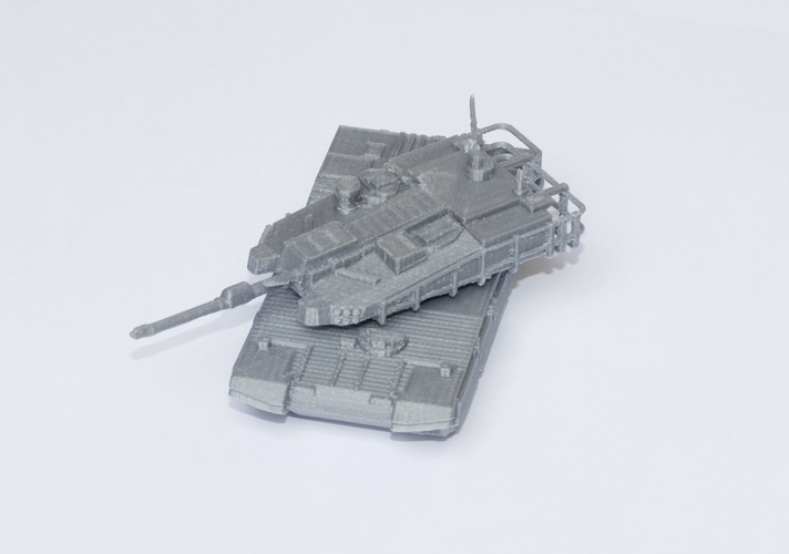 K2 Black Panther Tank Simple Model Kit 3D Print 63616