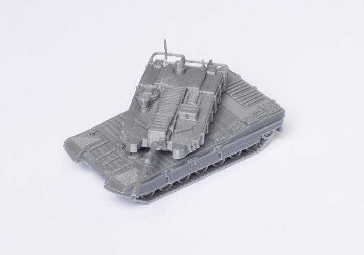 K2 Black Panther Tank Simple Model Kit 3D Print 63620