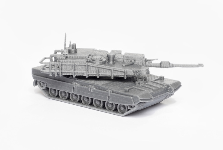 K2 Black Panther Tank Simple Model Kit 3D Print 63621