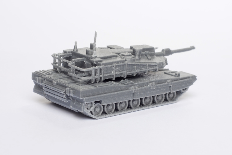 K2 Black Panther Tank Simple Model Kit 3D Print 63622