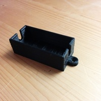 Small Lamp switch holder 3D Printing 64093