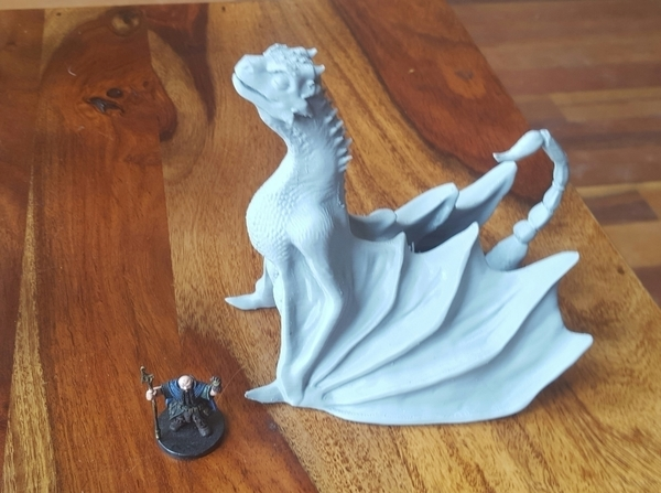 Medium Pseudo-Dragon 1:1 scale(?) 3D Printing 64120