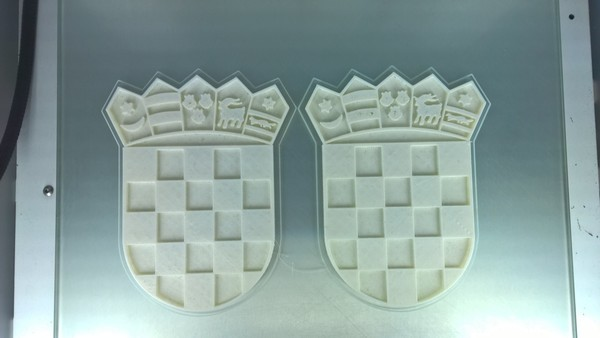 Medium Coat of arms of Croatia 3D Printing 64266