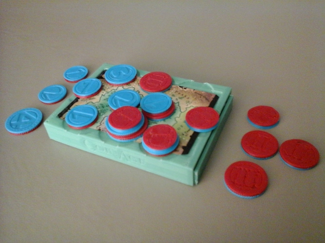 Coin Age Hard Case for 3D Printed Coins 3D Print 6448