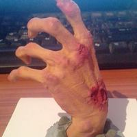Small Zombie Hand 3D Printing 64591