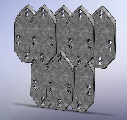 how to make scale armor