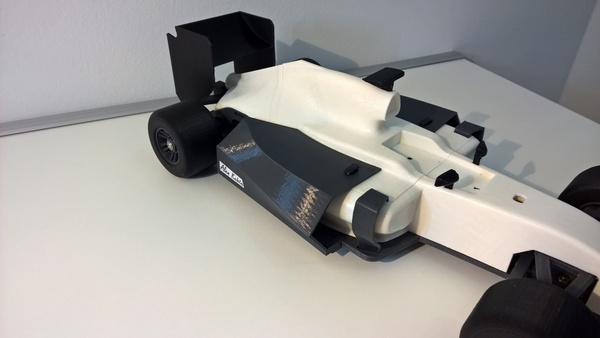 Medium open rc f1 body kit 3D Printing 64892