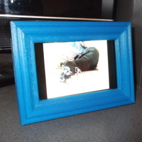 Small Phone Picture Frame. 3D Printing 64909