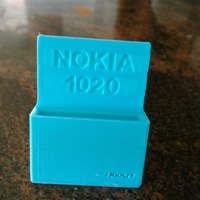 Small Support nokia charger 1020 3D Printing 64932